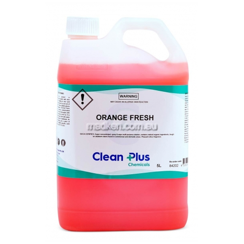 View 842 Multi Purpose Cleaner Orange Fresh details.