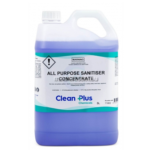 View 718 All Purpose Sanitiser Concentrate details.