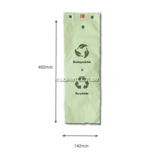 View Biodegradable Polybags to Suit Umbrella Bagging Machines details.