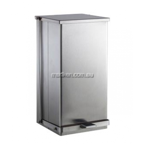 View B220816 Waste Receptacle 30L Foot-Operated details.
