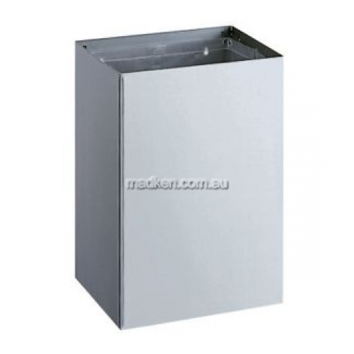 View B275 Waste Receptacle 75L details.