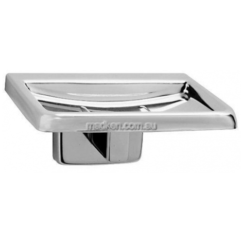 View B680 Soap Dish with Drain Holes details.
