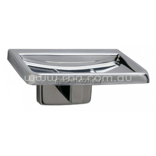View B7680 Soap Dish with Drain Holes details.