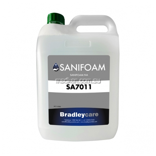View SA7011 Hand Sanitiser Foaming, Anti-Microbrial (No Alcohol) details.