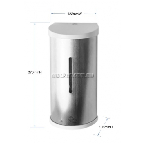 View 6866S Sensor Spray Soap Dispenser 800ml details.