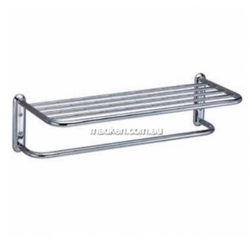 View Q1044 Hotel Towel Shelf with Rail details.