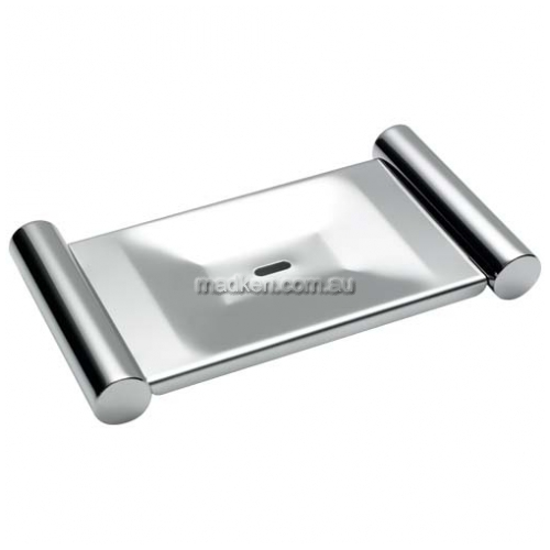 View R021 Soap Dish with Drain Hole details.