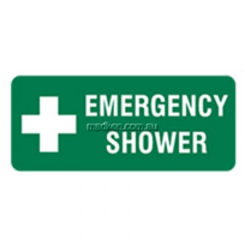 View Emergency Shower Sign details.