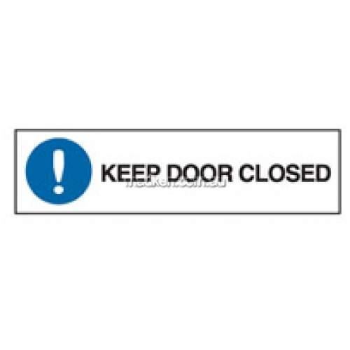 View Brady 84282 Keep Door Closed Sign details.