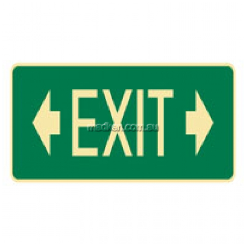 View Exit Sign with Arrows details.