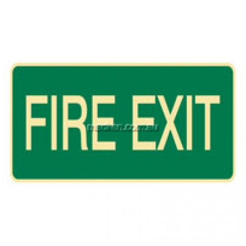 View Fire Exit Sign details.