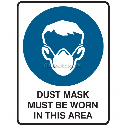 View Dust Mask Must Be Worn In This Area details.