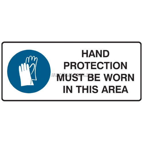 View Hand Protection Must Be Worn In This Area details.
