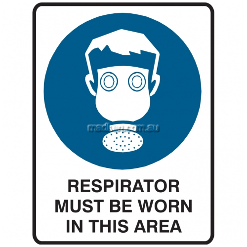 View Respirator Must Be Worn In This Area details.