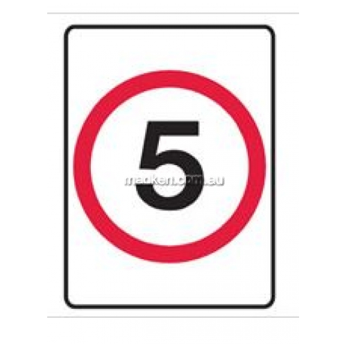 View Speed Limit Sign - 5 details.