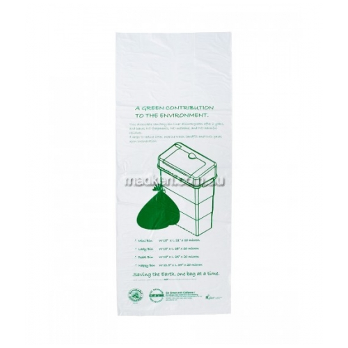 View Biodegradable Bin Liner with Sanibin Bio-Organic Gel details.