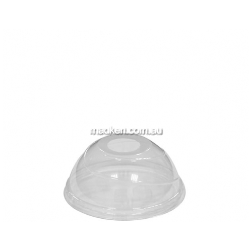 Budget Dome Lid with Hole Small