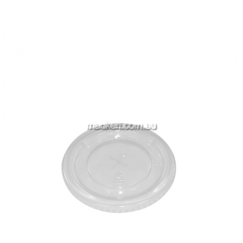 Budget Flat Lid with Straw Slot Small