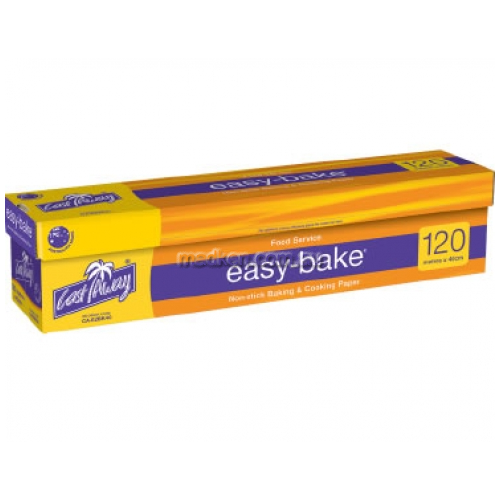 View Non-Stick Baking and Cooking Paper Large 120m x 40.5cm details.