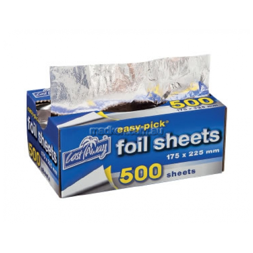 View Heavy Duty Foil Sheets Pre-Cut Small details.