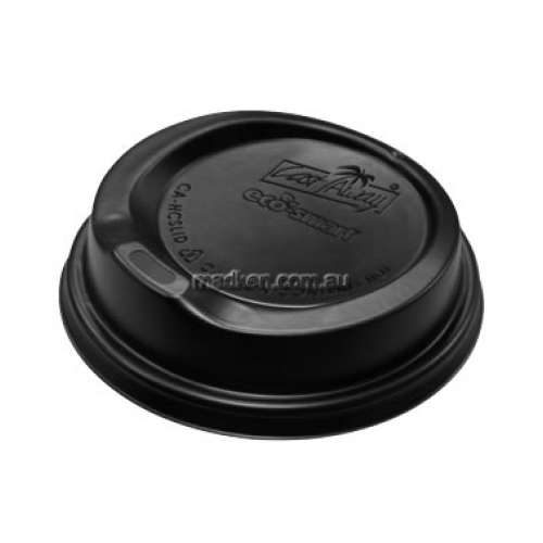 Snap On Hot Cup Lid Black
