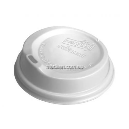 Snap On Hot Cup Lid White