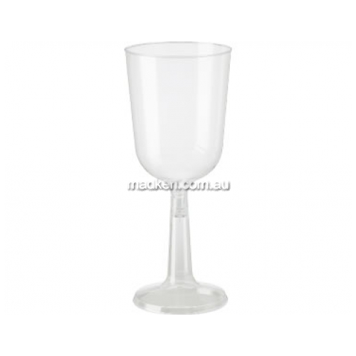 Wine Goblet Plastic Clear