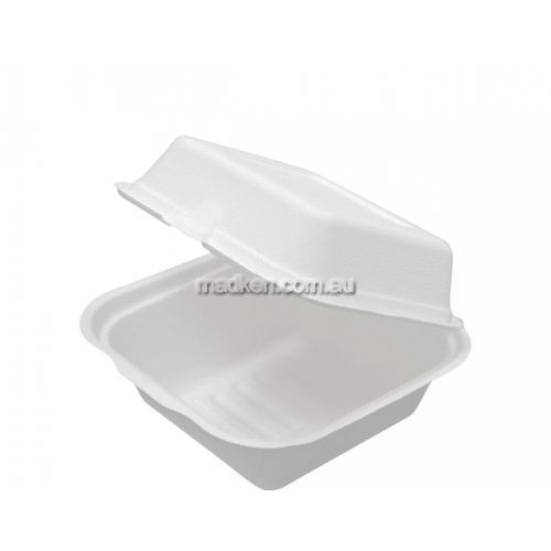 View CA-EFC01 Burger Packs Hinged Lid Large details.