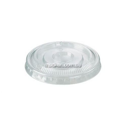 View Flat No Hole Plastic Clear Lid details.