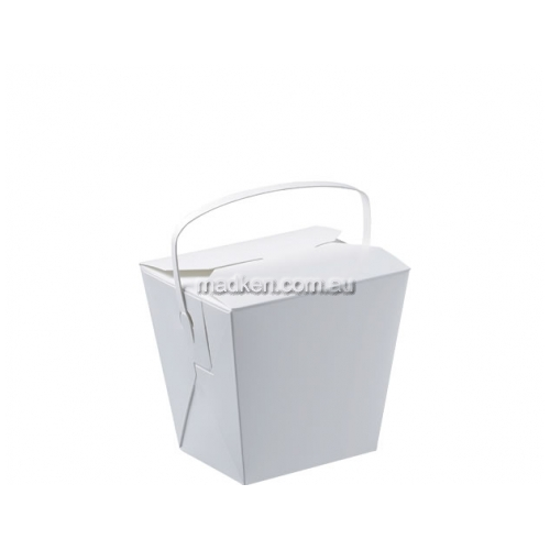 View Cardboard Food Pail with Handle Small 236ml details.