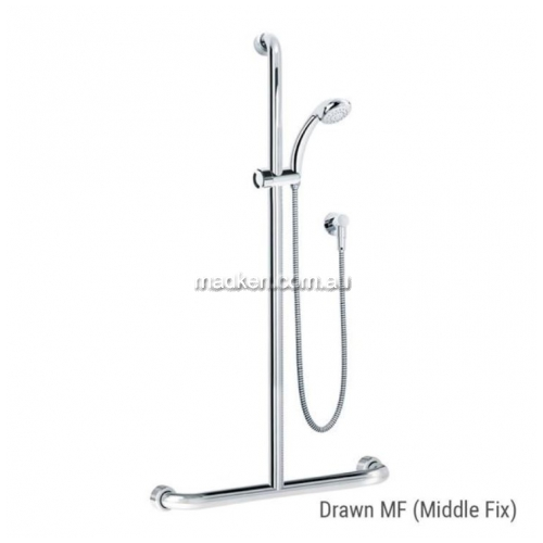 View HS01816 Shower and Rail Kit 16 Middle Fix details.