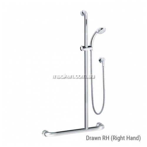 View HS01816 Shower and Rail Kit 16 Right Hand details.