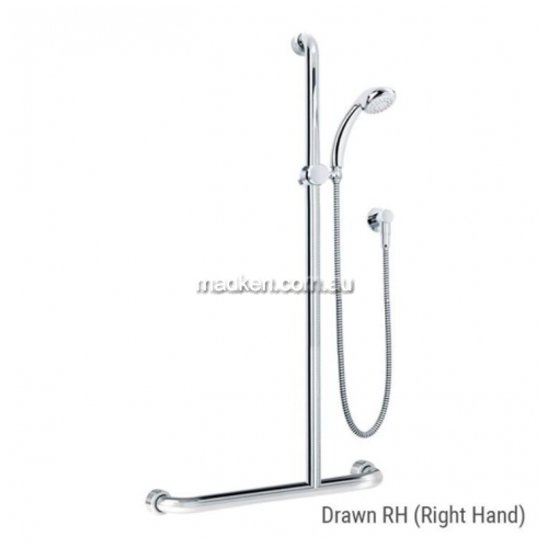 View HS01820 Shower Kit and Rail Kit 20 Right Hand details.