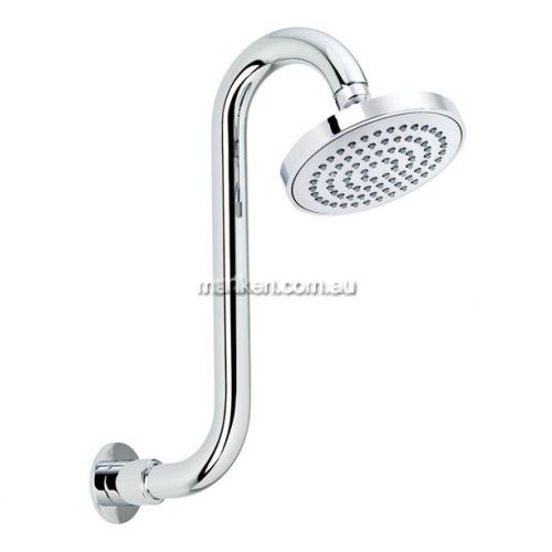 View OH008E Shower Head Swan Neck details.