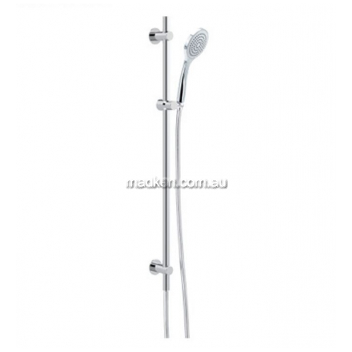 View HS026J Streamjet Shower Head on Rail details.