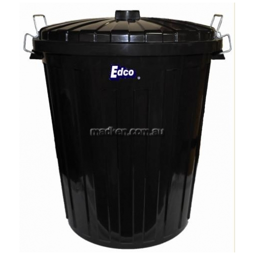 View 1919 Plastic Garbage Bin With Lid 55L details.