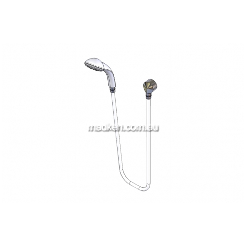 View SP274 Hand Held Shower and Hose - Replacement Kit for Grab Rail details.