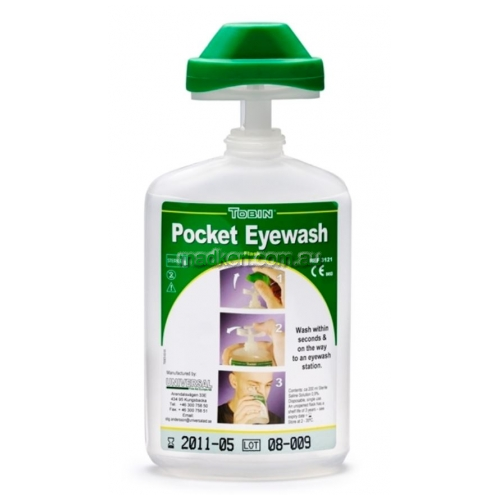 View TOB121 Pocket Eyewash Bottle details.
