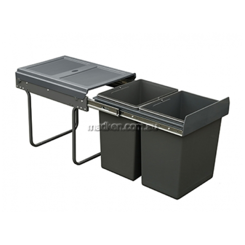 View Pull Out Double Waste Bin System details.