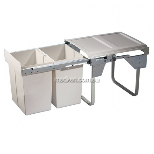 View Waste Bin System, 2 x 20L Capacity details.