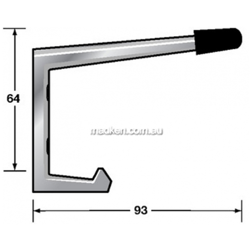 View Coat Hook with Bumper details.
