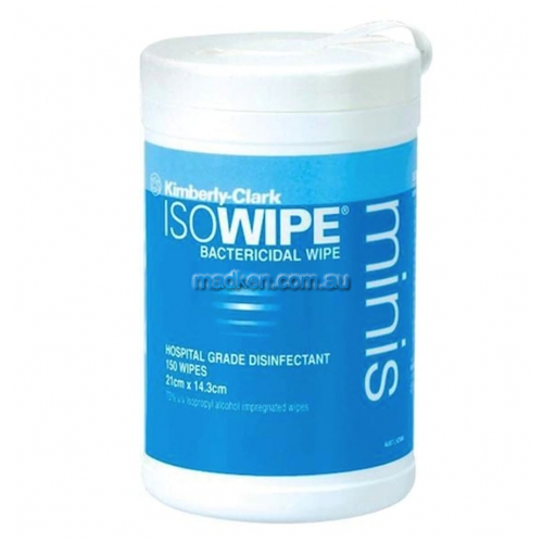 View 6837 Isowipe Mini Bactericidal Wipes details.