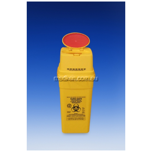 View QSeu7.0 Euro Safe Waste Disposal Container Square 7L details.