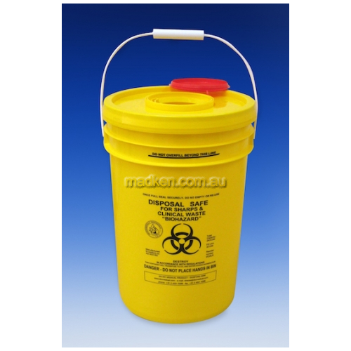 View Waste Disposal Container Round 24L details.