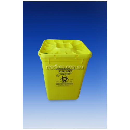 View Autoclavable Medical Waste Container 60L details.