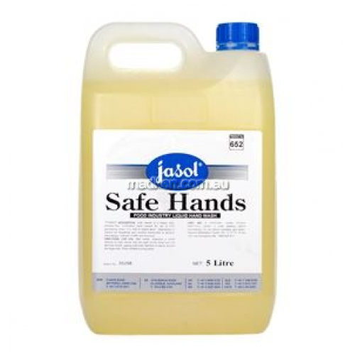 View Safe Hands Premium Hand Cleaner with Built in Sanitiser details.