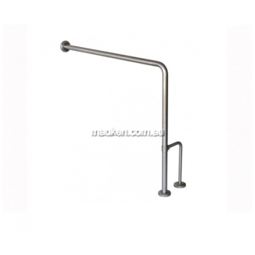 View GOR Freestanding Toilet Grab Rail Wall to Floor details.
