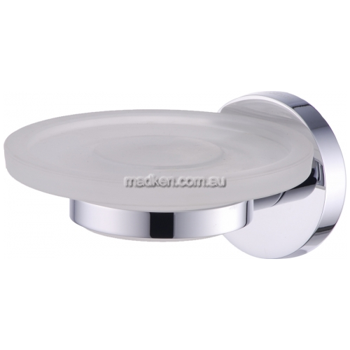 View 6810 Round Soap Dish with Frosted Glass details.