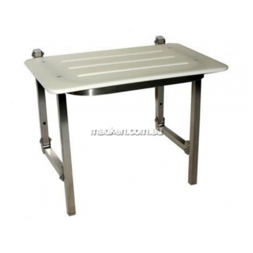 View SS600S Folding Shower Seat with Legs details.