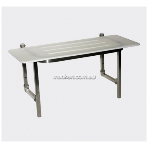 View SS960S Folding Shower Seat Slotted Disabled Compliant details.